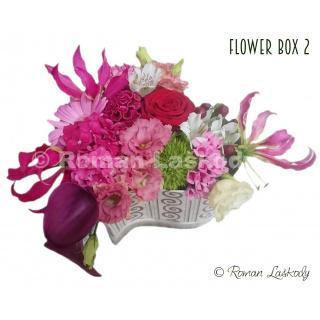 Kvety v krabičke 2