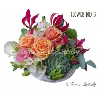Kvety v krabičke 3