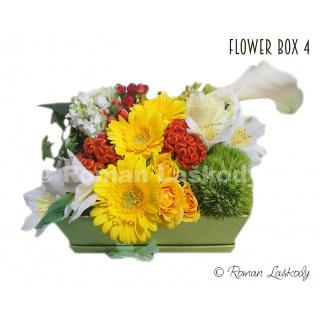 Kvety v krabičke 4